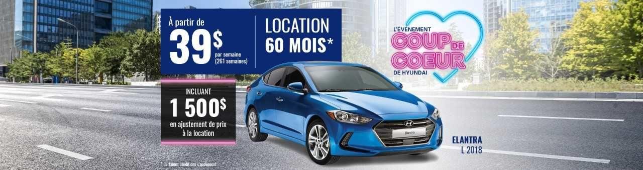 Promo Hyundai Casavant juillet 2018-Elantra L 2018 pc