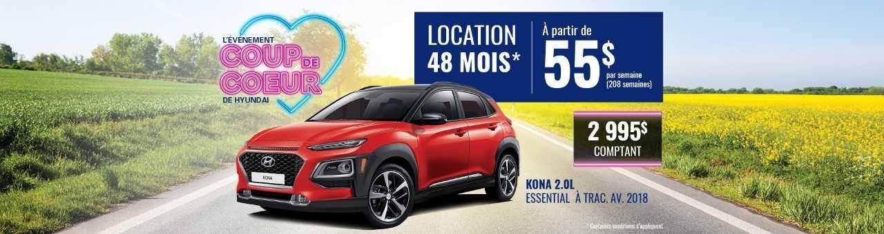 Promo Hyundai Casavant juillet 2018-Kona 2018 pc