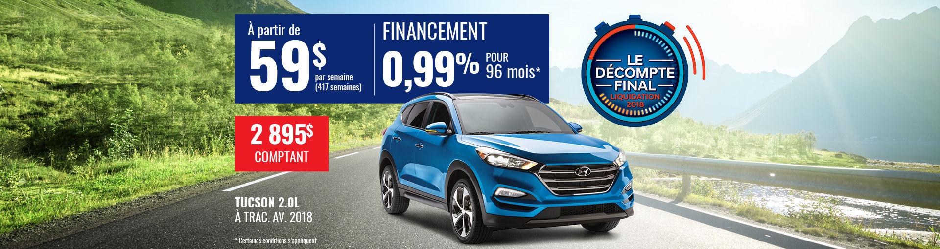 Promo Hyundai Casavant août 2018-Tucson 2018 pc