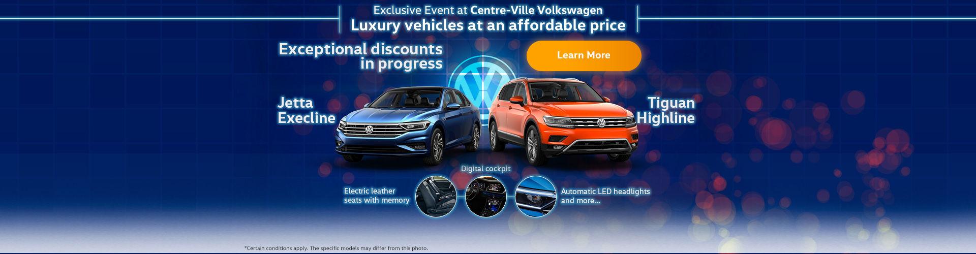 Exclusive Event at Centre-Ville Volkswagen