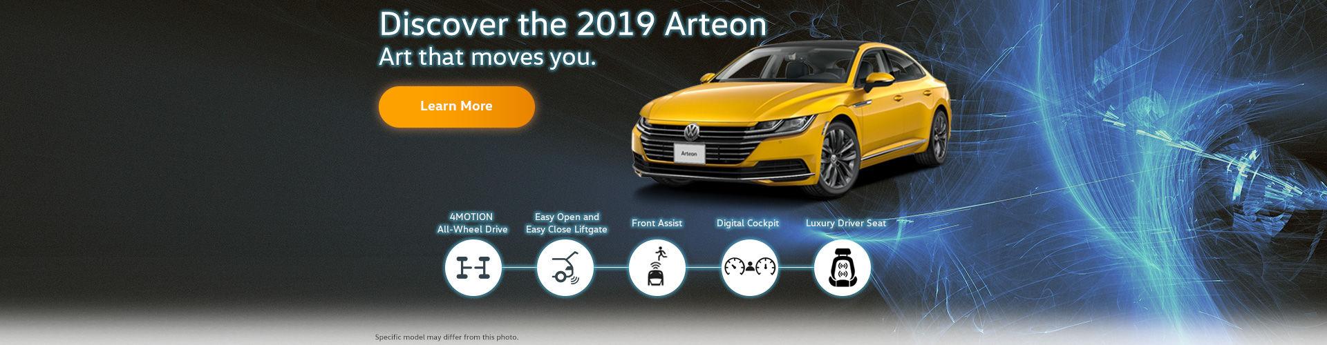 Discover the 2019 Arteon