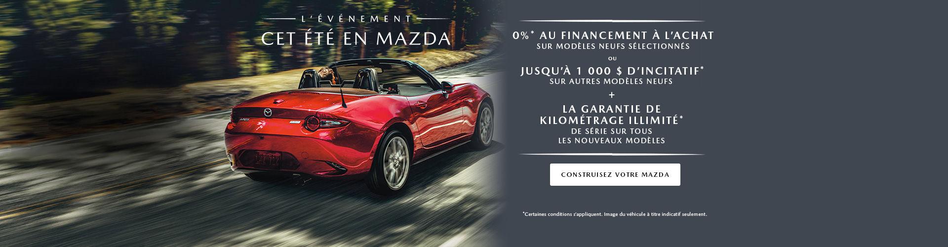 Événement Mazda