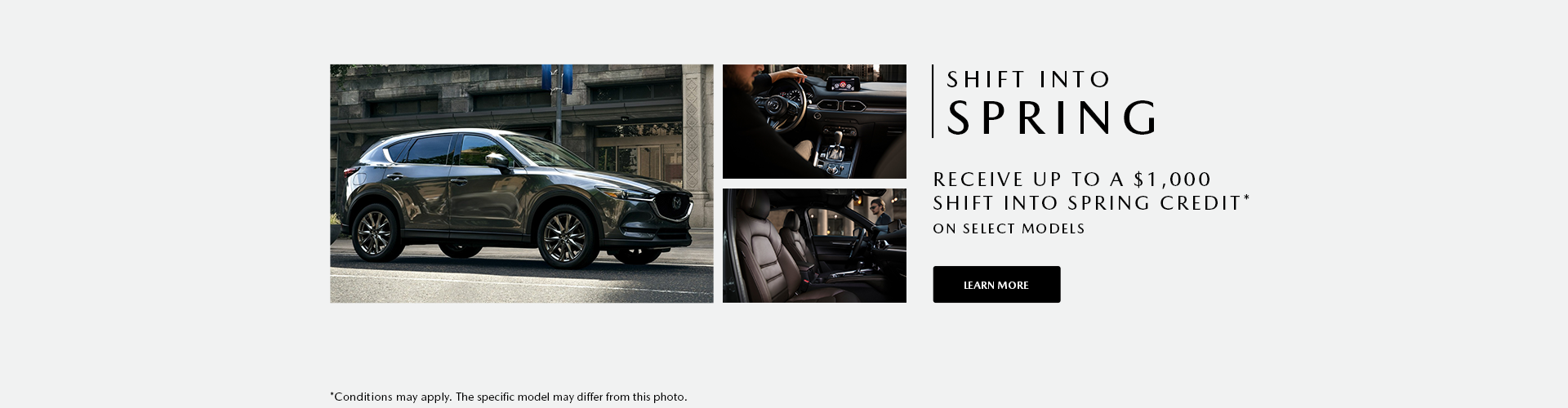 Shift into Spring Sales Event