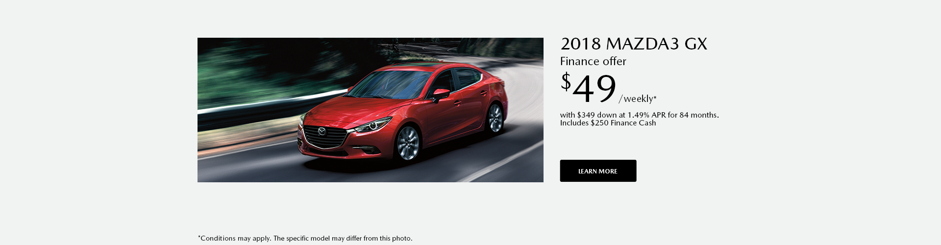 Get the 2018 Mazda 3 today !