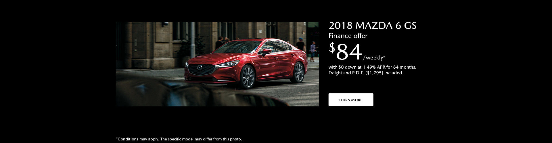 Get the 2018 Mazda 6 today !