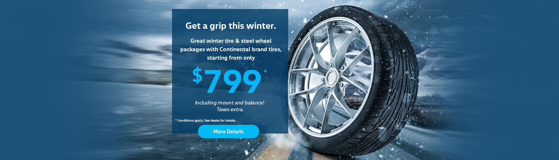 Winter Tire offer