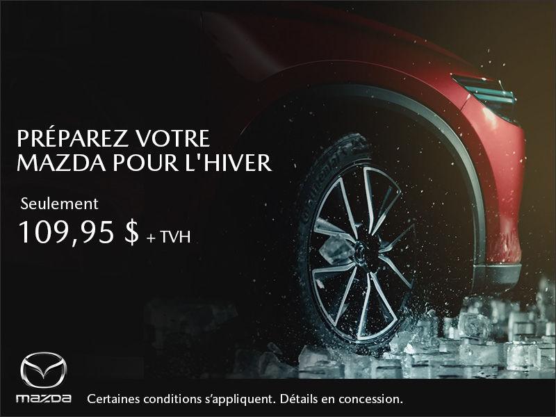 Préparez votre Mazda pour l'hiver