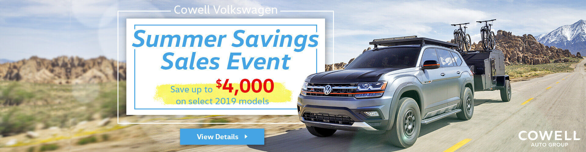 Summer Savings Sales Event