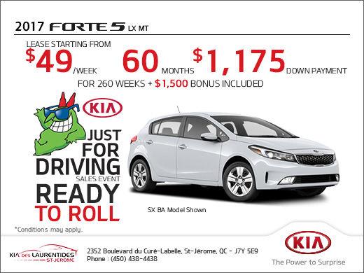 Get the 2017 Kia Forte5 Today