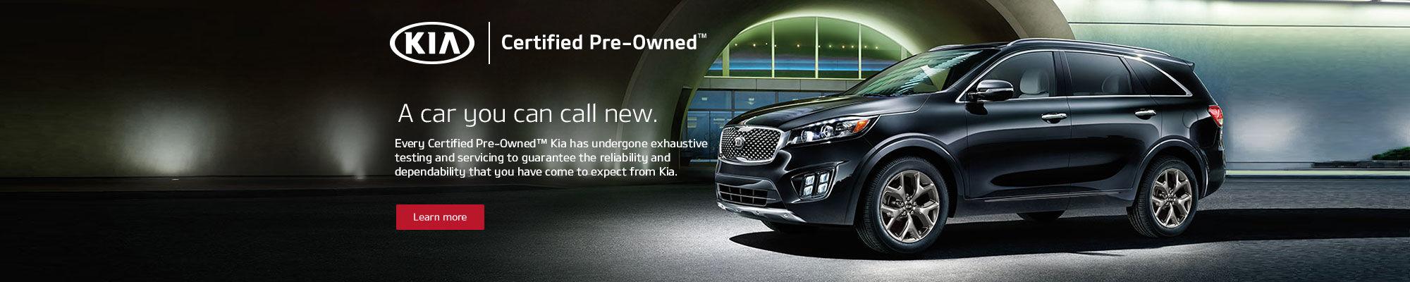 Kia Certified Vehicles