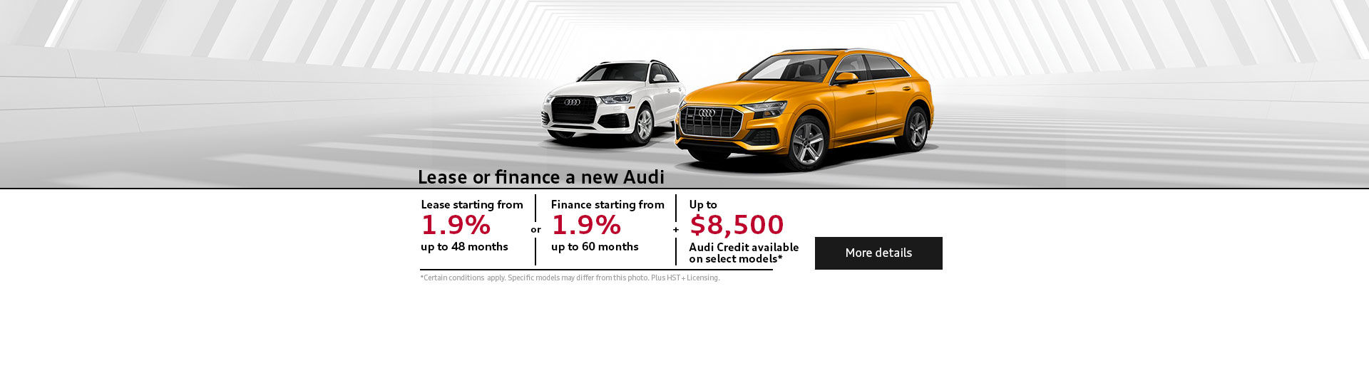 Monthly event Audi