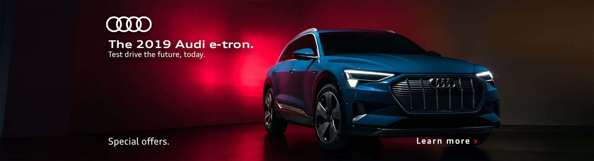 The All New etron Banner