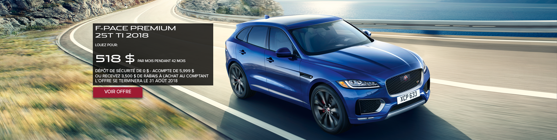 August F-PACE Offer