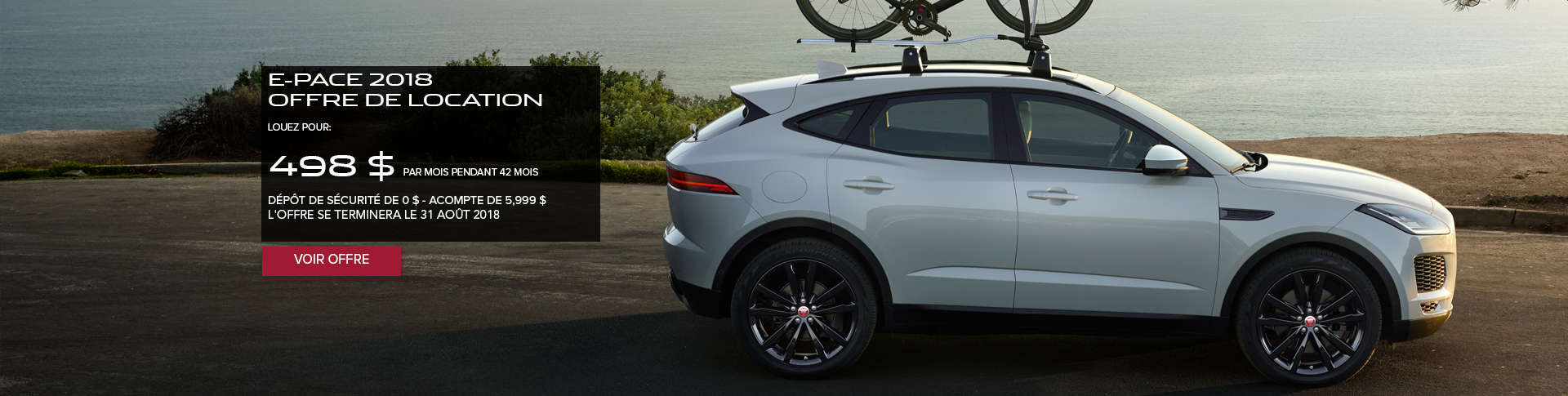 August E-PACE Offer