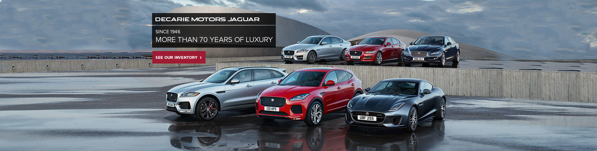 Decarie Motors Jaguar - 70 Years