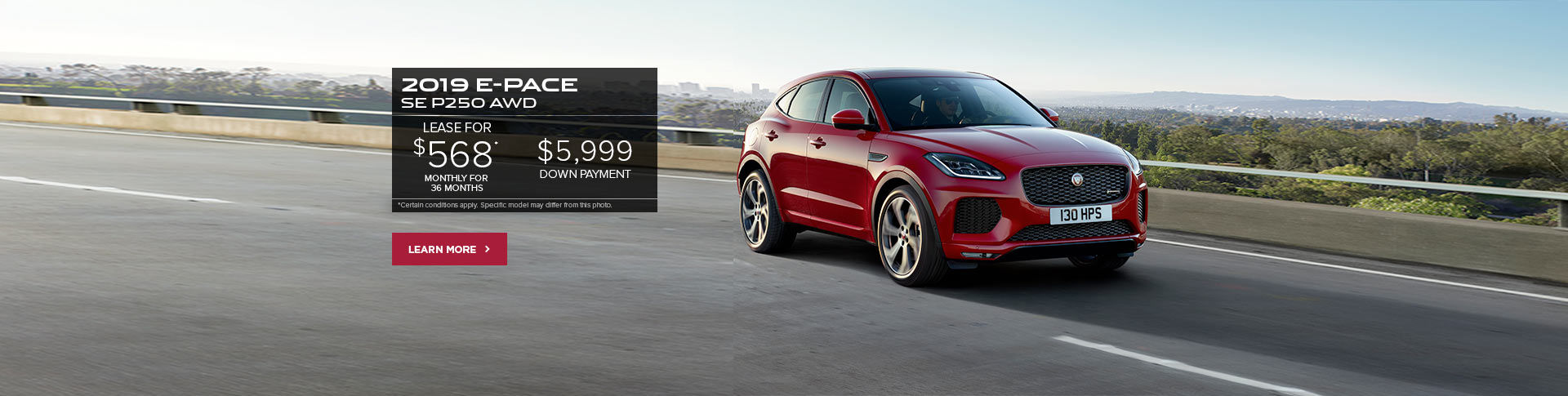 The 2019 E-PACE