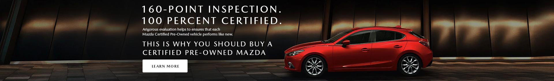 Destination Mazda Vancouver Certified Pre-Owned Mazda