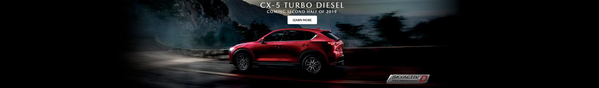 CX-5 Turbo Diesel