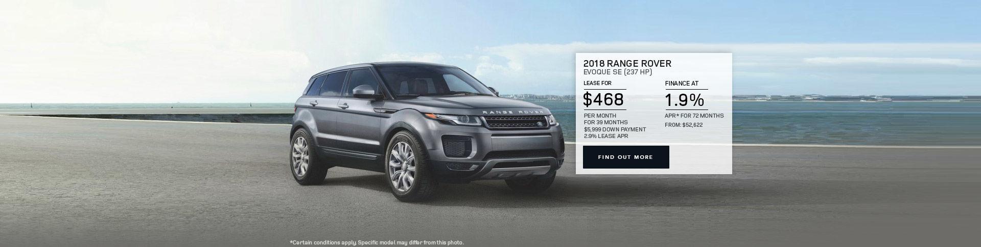 2018 Rover Evoque