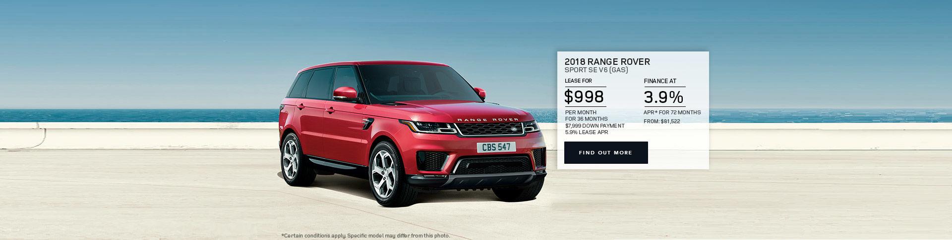 2018 Rover Sport