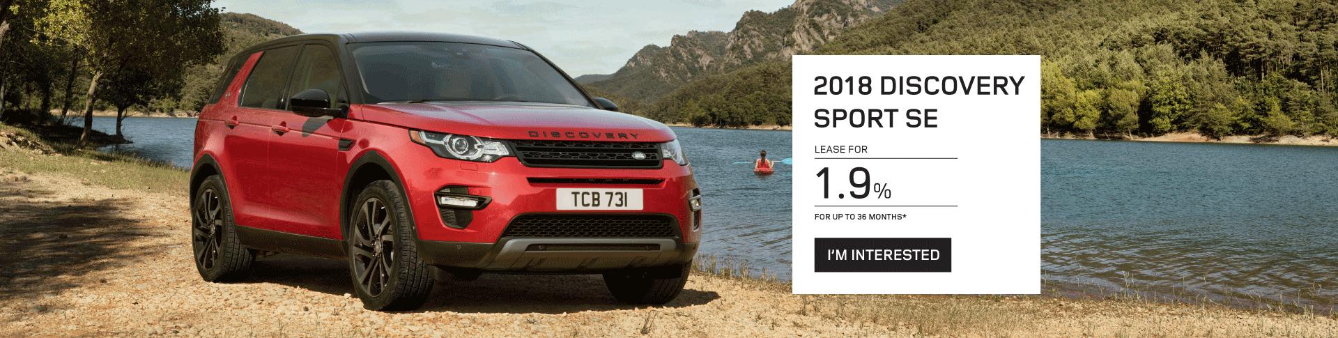 2018 Discovery Sport SE