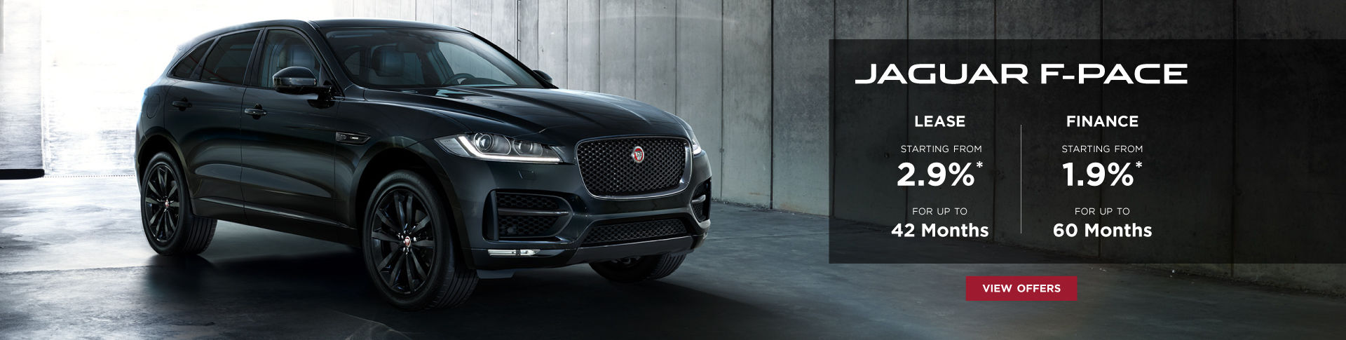 F-PACE Special Offers