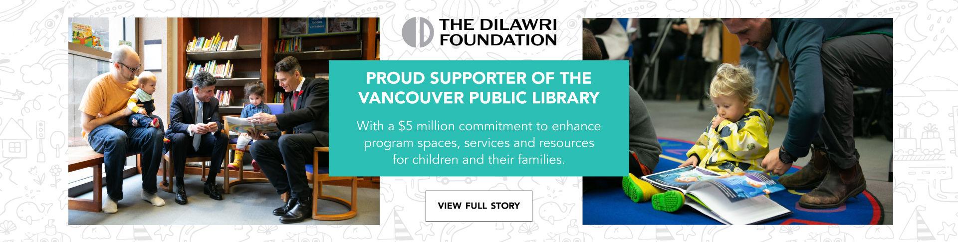 Dilawri Foundation Vancouver Public Library