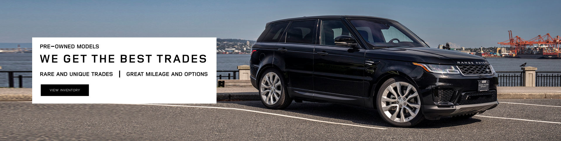 Land Rover Pre-Owned Special