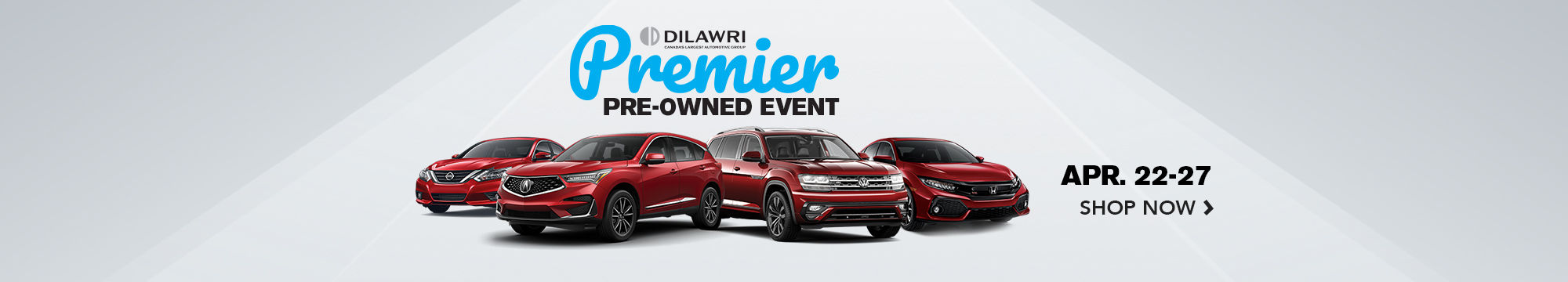 Premier Pre-Owned Sales Event