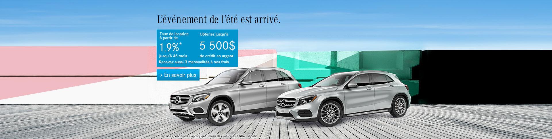 Événement Mercedes
