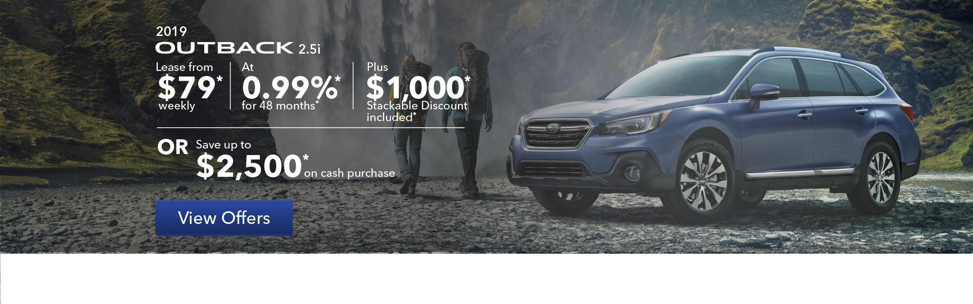 2019 Outback Promotion