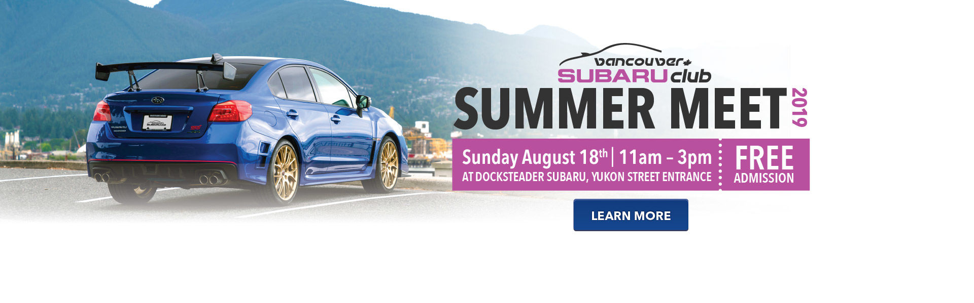 Subaru Summer Meet 2019