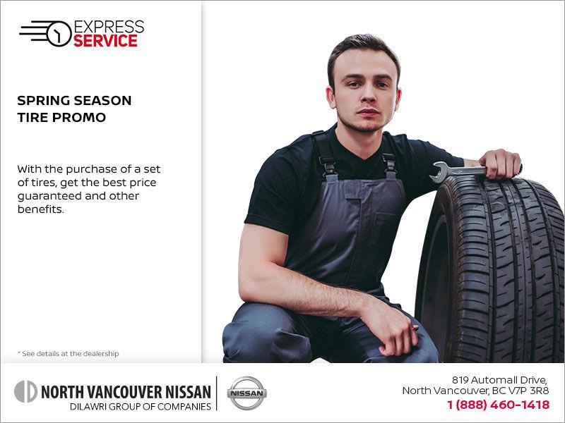 Spring Season Tire Promo