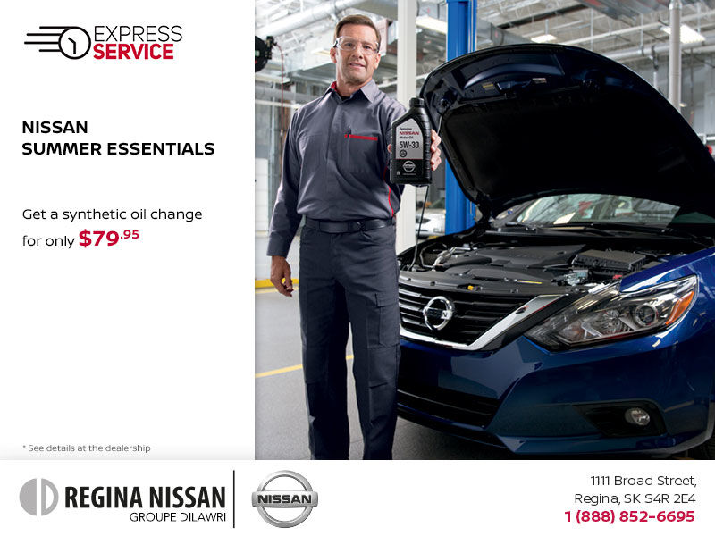 Nissan Summer Essentials - Oil Change