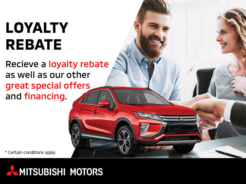 Mitsubishi Loyalty Rebate