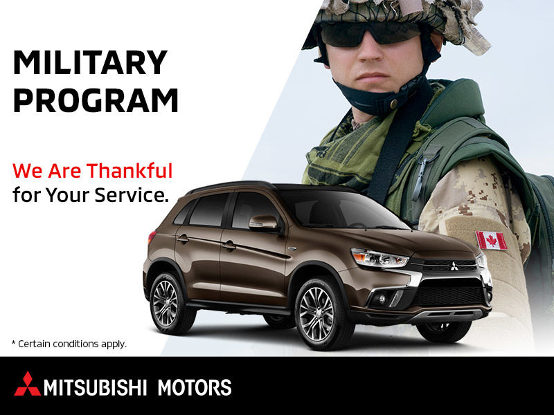 Mitsubishi Military Program