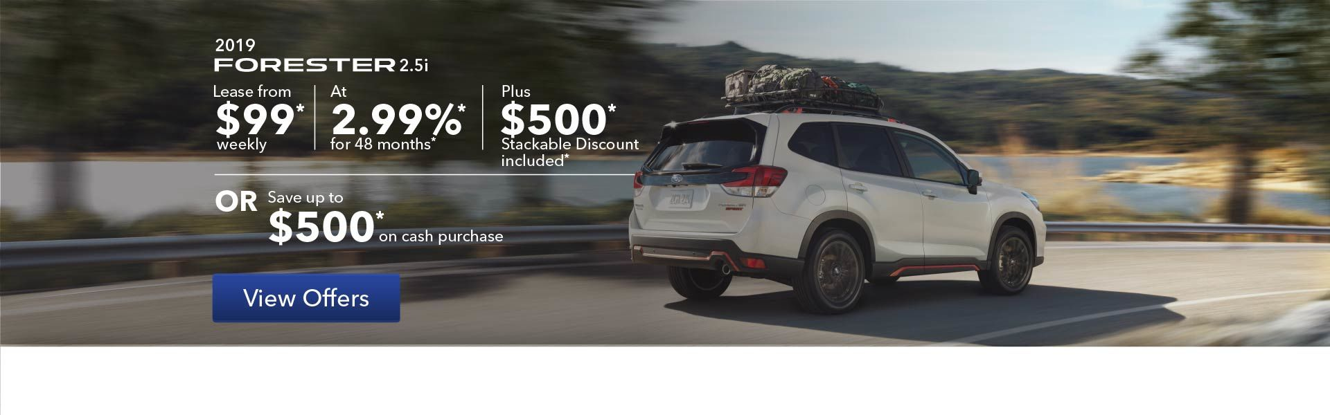 2019 Forester Promotion