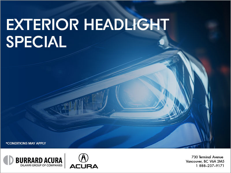 Exterior Headlight Restoration
