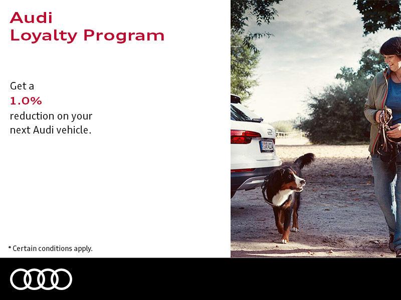 Audi loyalty program