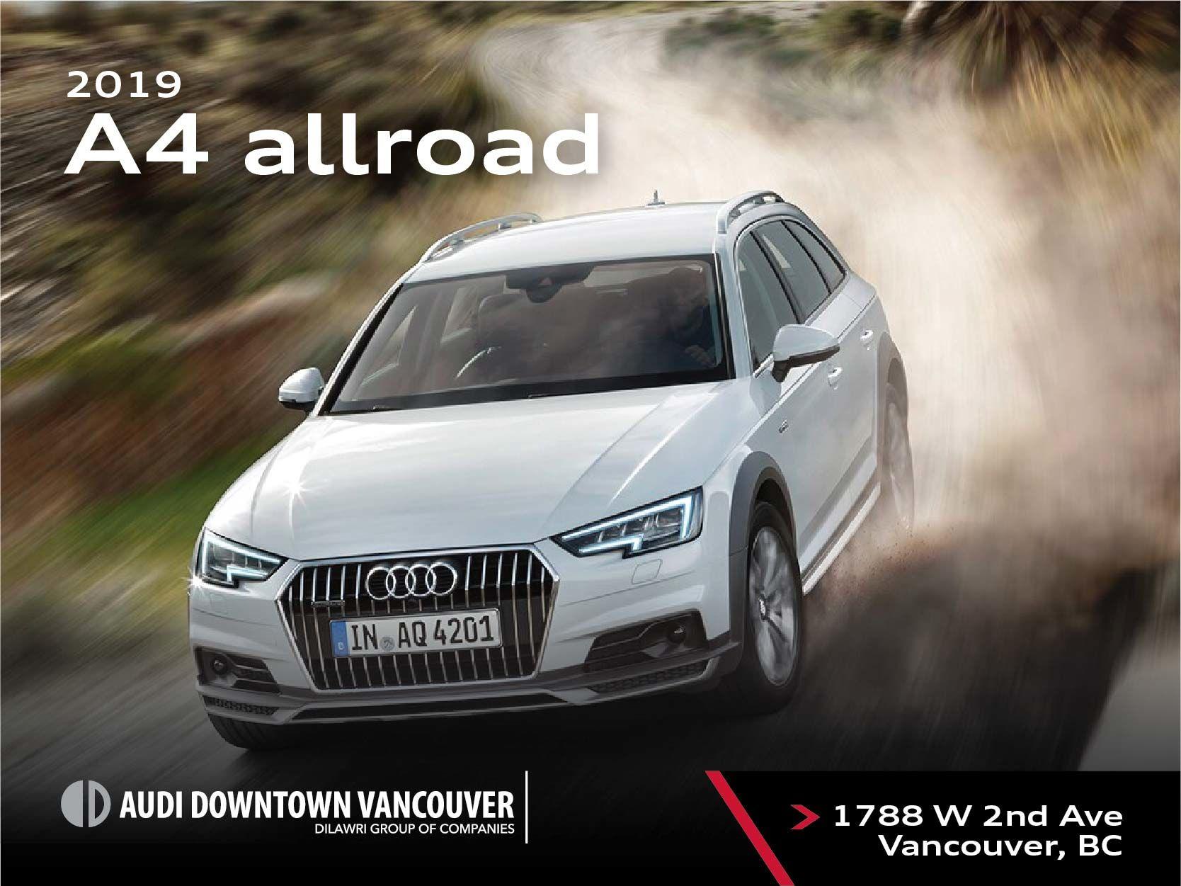 The 2019 Audi A4 allroad