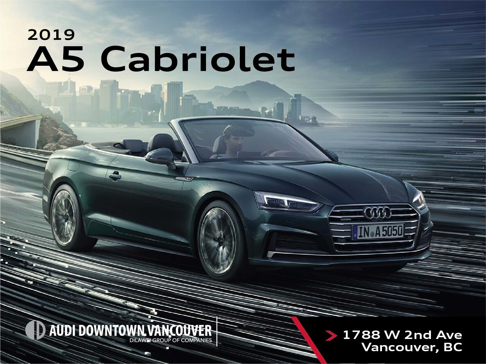 The 2019 Audi A5 Cabriolet