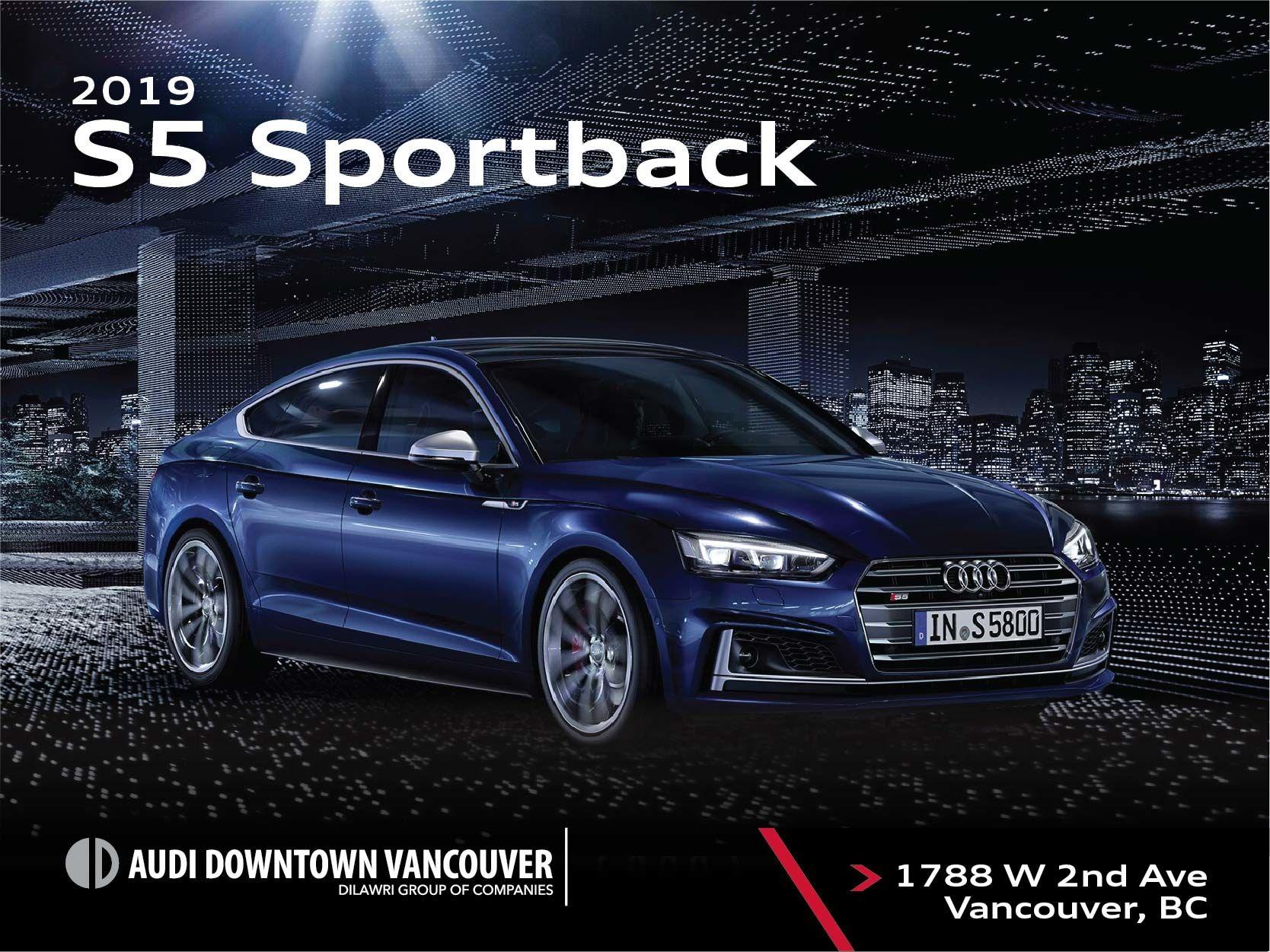The 2019 Audi S5 Sportback