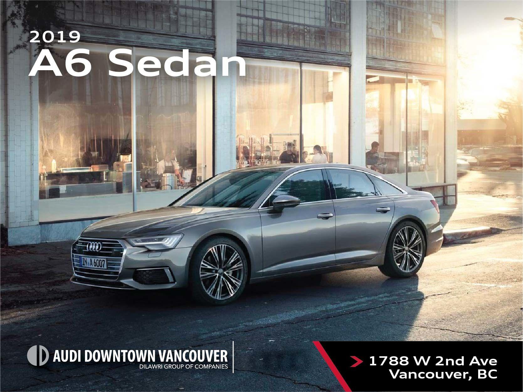 The 2019 Audi A6 Sedan