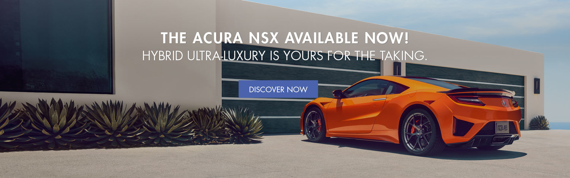 The Acura NSX Available Now!