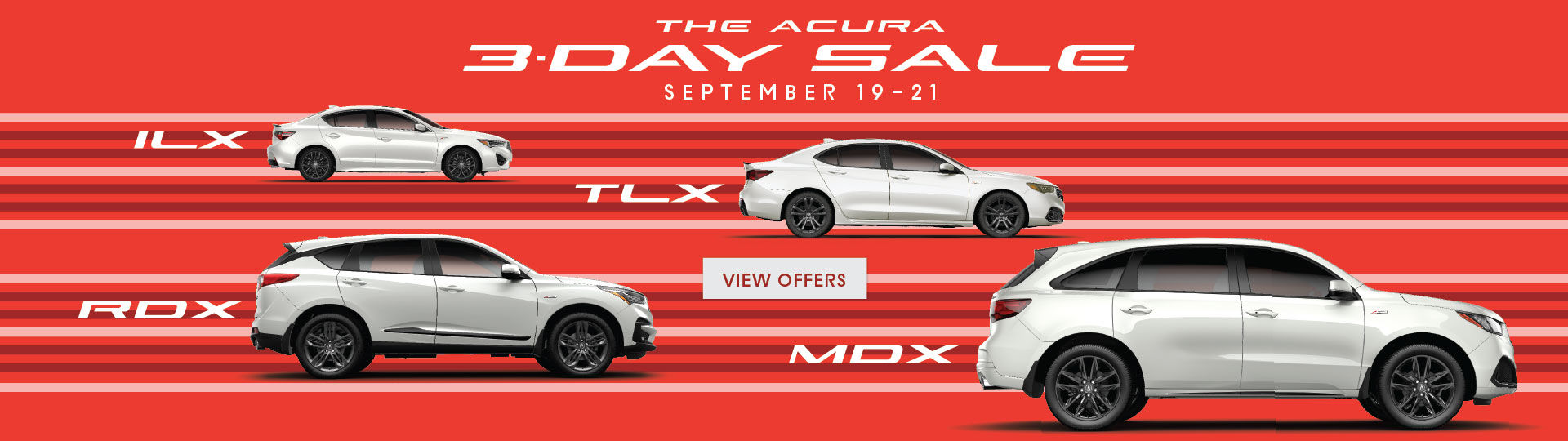 The Acura 3 Day Sale | SEPT 19 - 21