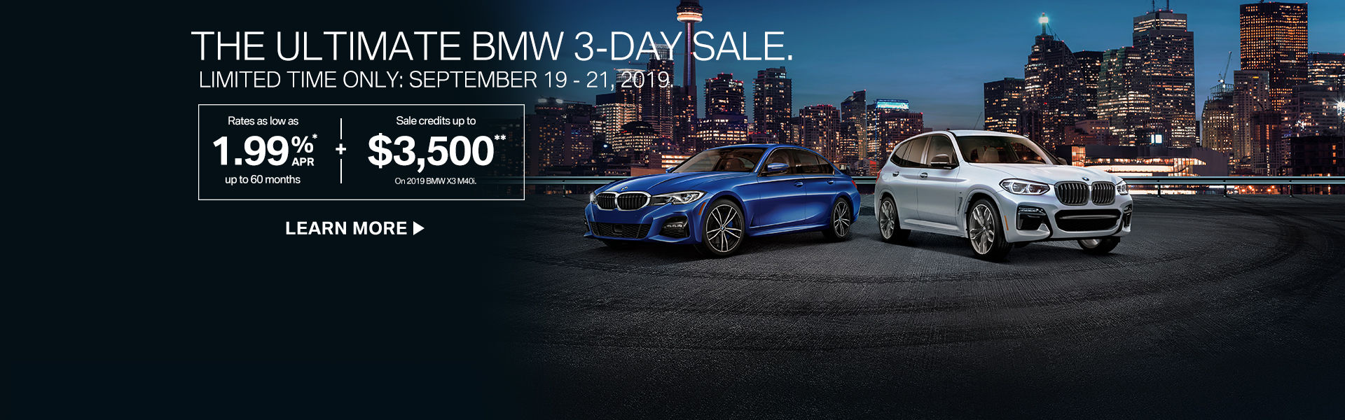 The Ultimate 3-Day Sale