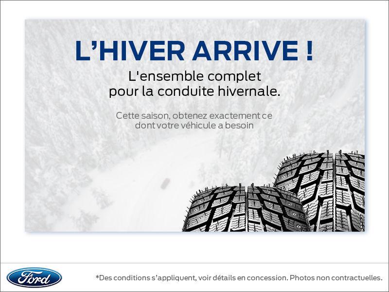 Équipez votre véhicule pour l'hiver