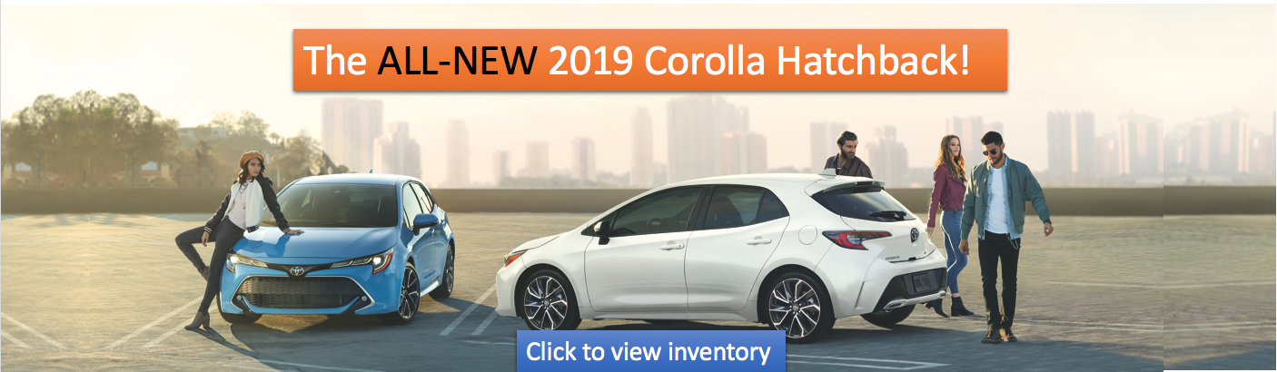 All New Corolla Hatch