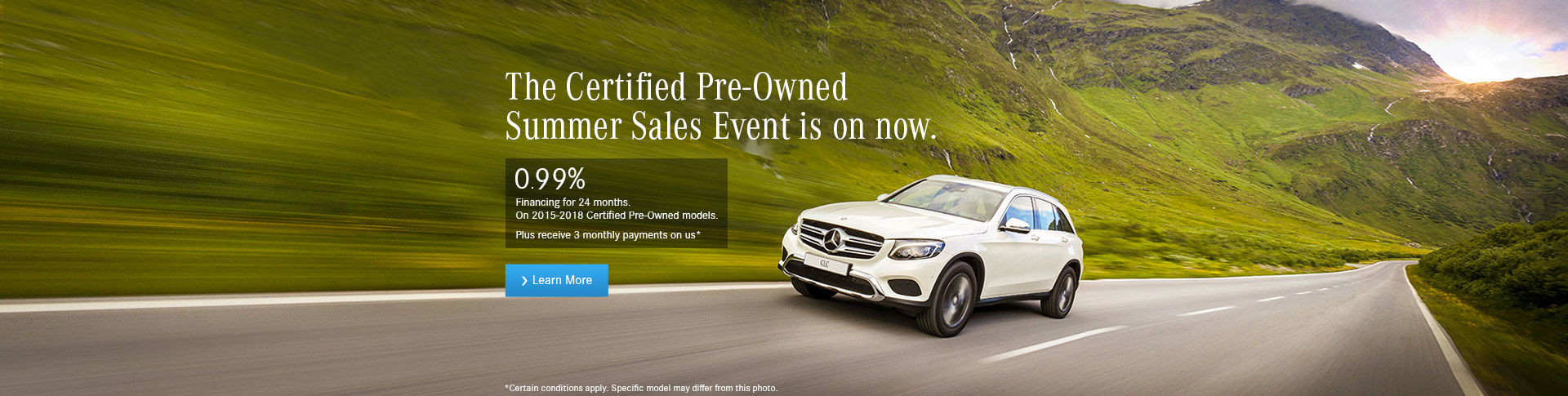 CPO Summer sales event