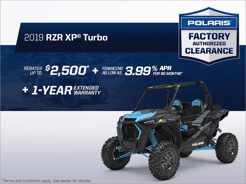 St-Casimir Autos Polaris Inc  | Save on the 2019 RZR XP Turbo